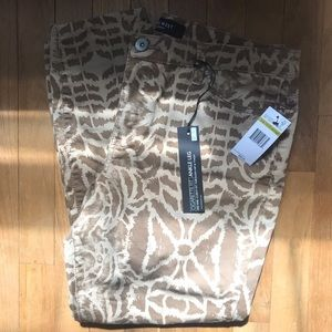 Nine West Pants & Jumpsuits - NWT Cigarette Fit Ankle Pants Giraffe Pattern